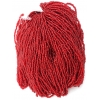 Seedbead 8/0 Silver Lined Red Strung